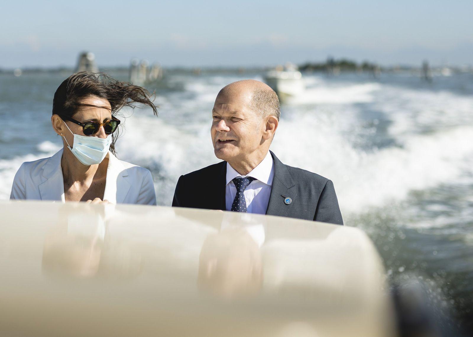 Olaf Scholz reist zum G20 Treffen in Venedig