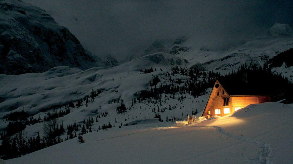 Kanada: Per Hubschrauber zur Skihütte