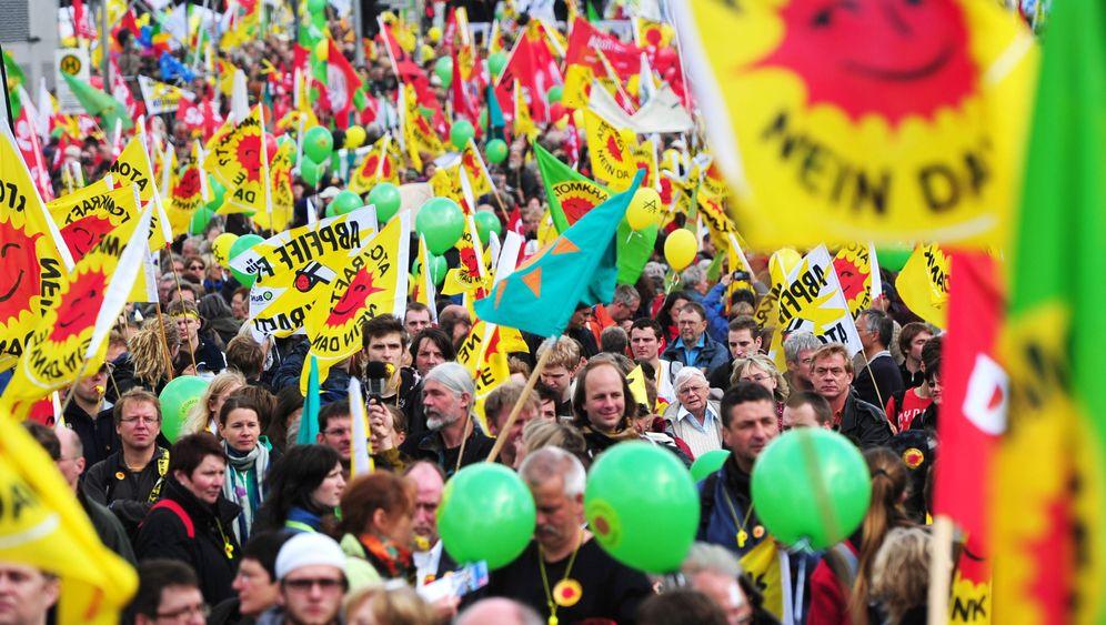 Atomgegner: Protest in Berlin