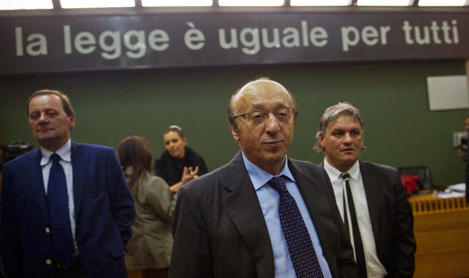 Luciano Moggi appeals to human rights court