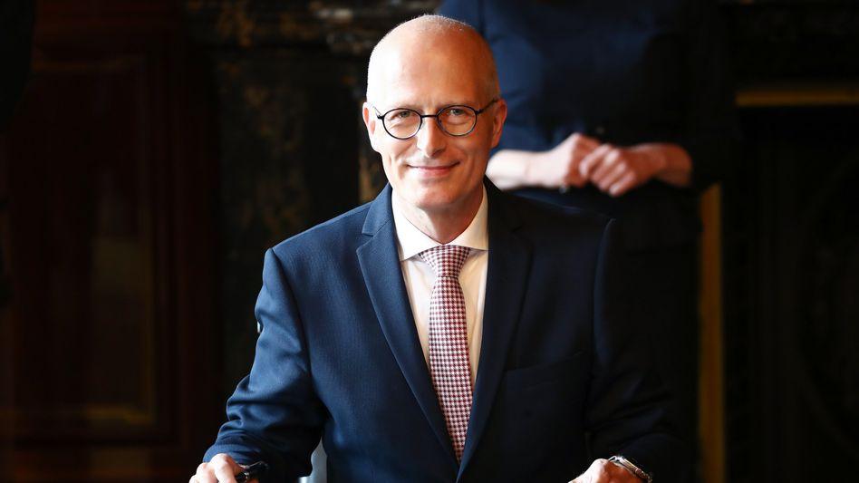 Wiedergewählt: Hamburgs Bürgermeister Peter Tschentscher