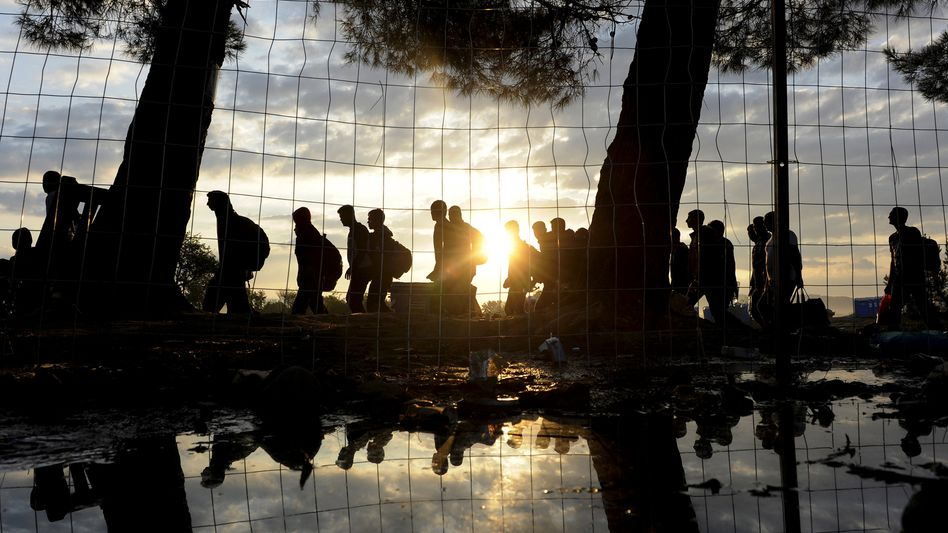 Syrische Flüchtlinge an der griechischen Grenze: Drängendes Problem