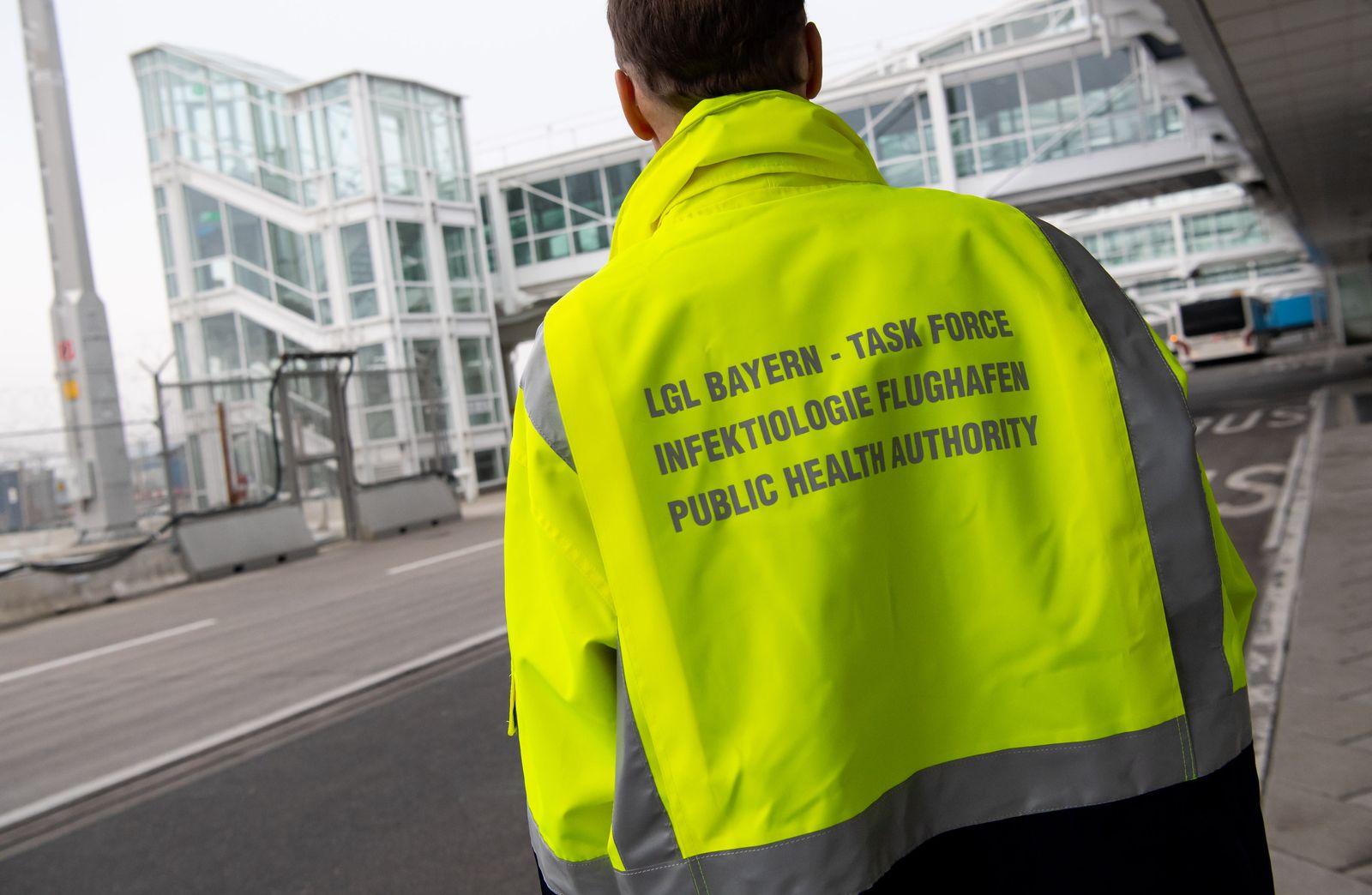 «Task-Force Infektiologie» am Flughafen