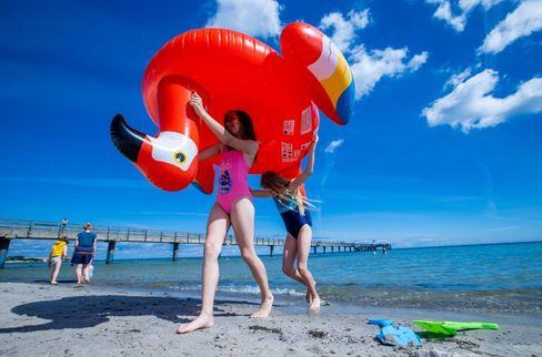 Strandspaß in Boltenhagen: nur für Einheimische und Übernachtungsgäste