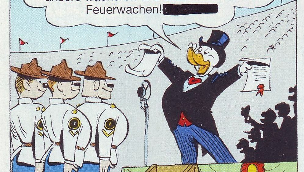 Printing Error Mixes Donald Duck Up With The Holocaust Der Spiegel