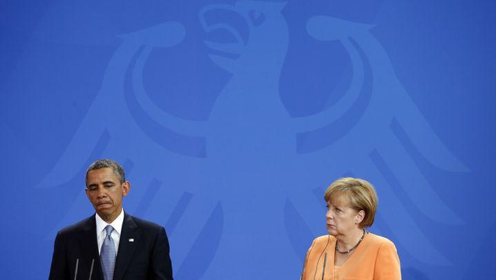 Spähverdacht: Angela Merkel und der US-Präsident