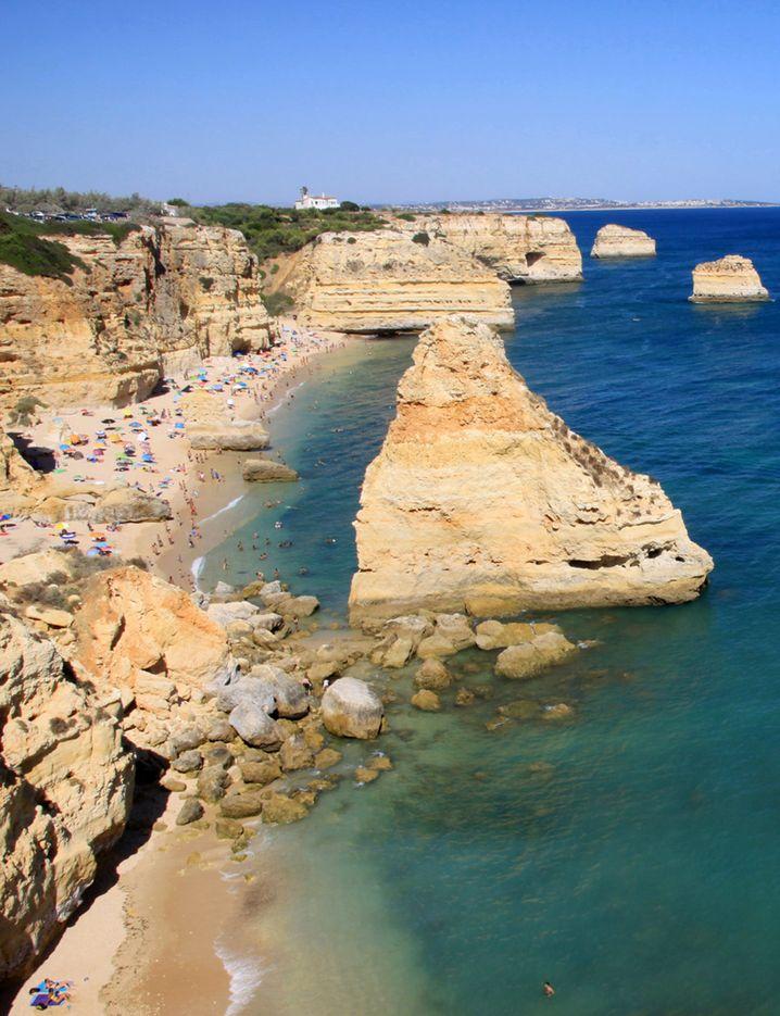 Praia Marinha: Schmuckstück der Algarve