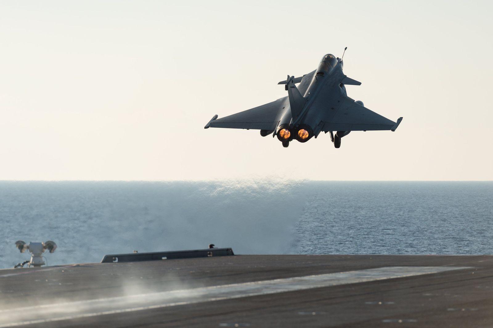 Frankreich Kampfjet Rafale