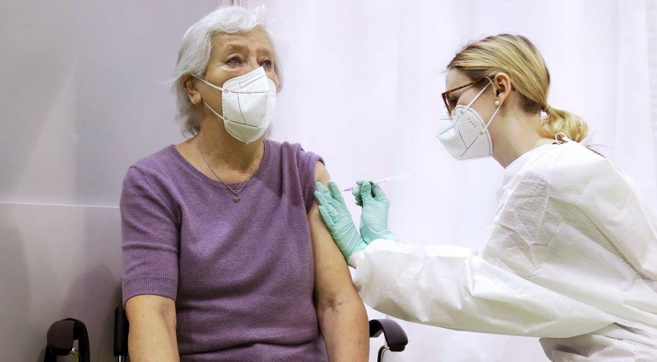 Corona-Impfung in Stuttgart