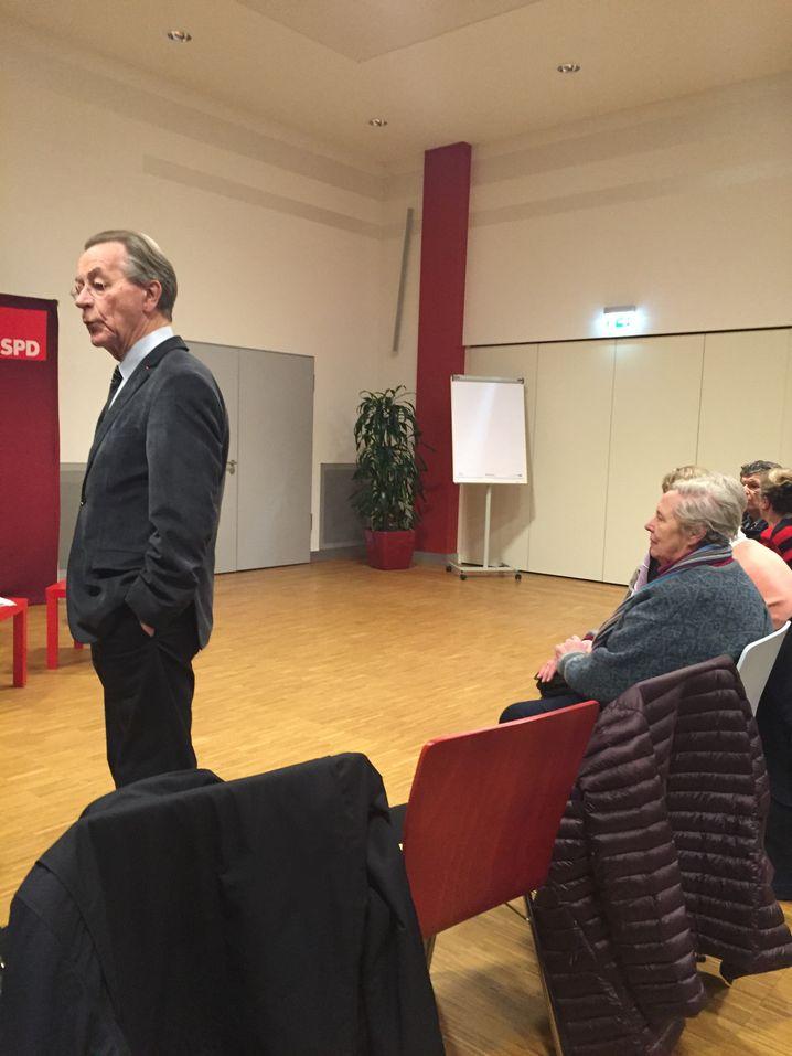 SPD-Politiker Müntefering in Hamburg