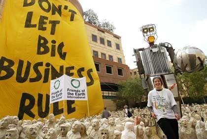 Bereits in den vergangenen Tagen hatten Aktivisten in Johannesburg demonstriert.
