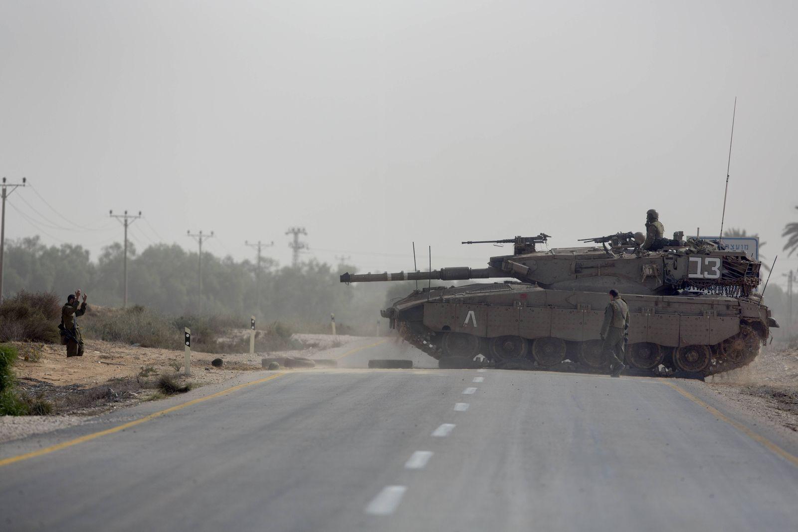 Israel/ Gaza/ Panzer