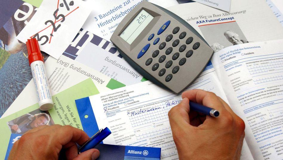 Lebensversicherung: Erleichterungen für die Branche geplant