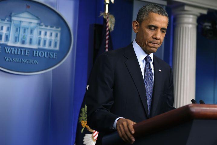 Barack Obama (am 8. Oktober 2013)