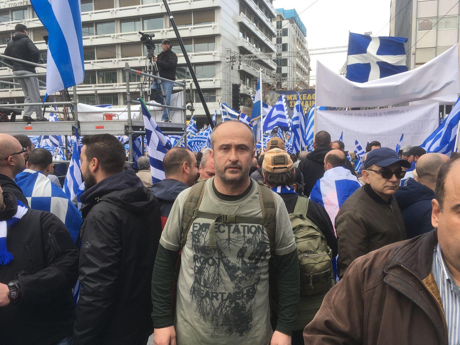 EINMALIGE VERWENDUNG Mazedonien
