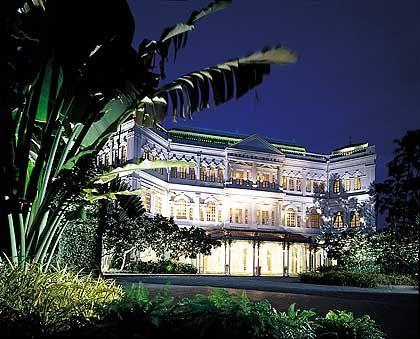 Hotel Raffles - jede Menge Kolonialkolorit
