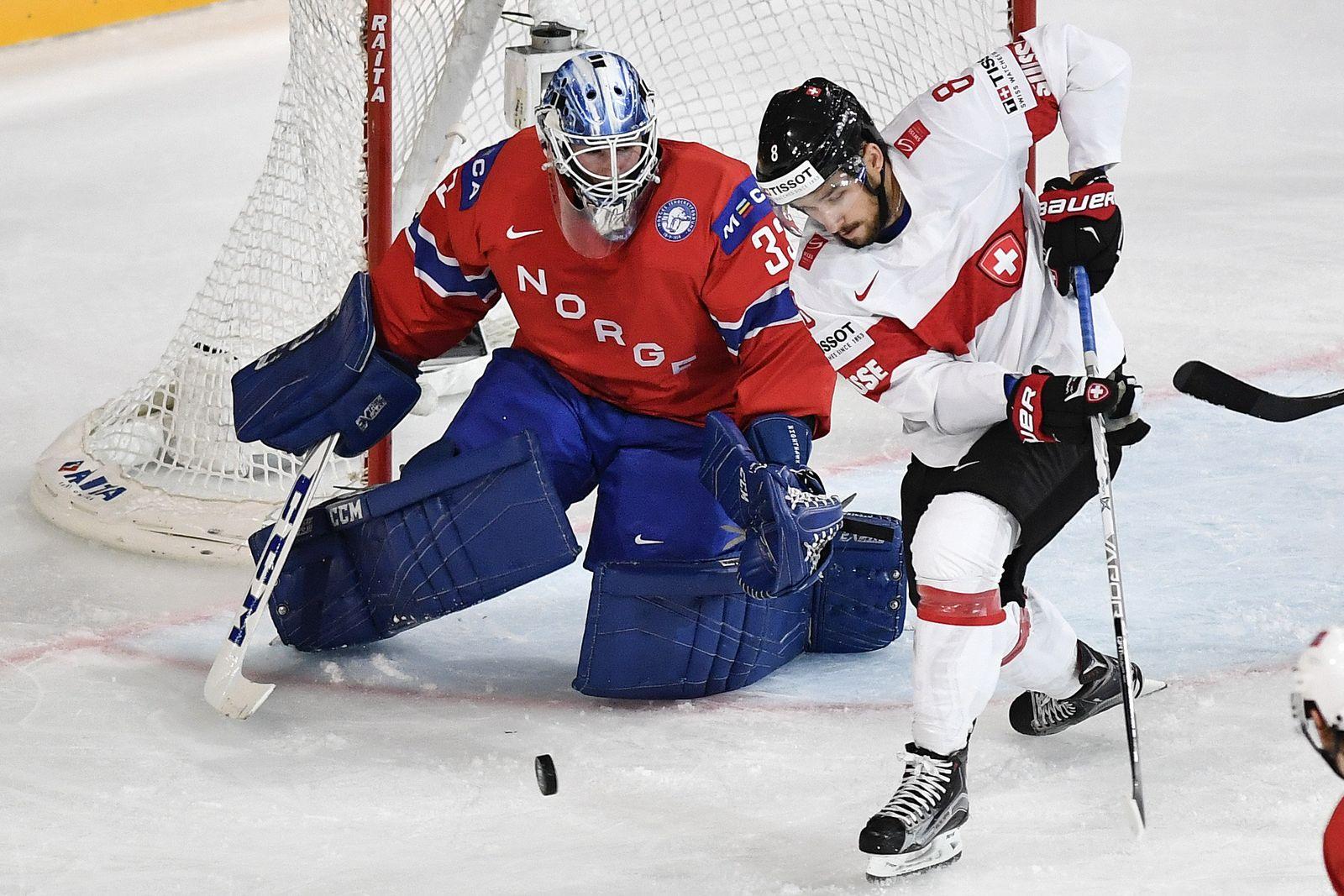 Eishockey-WM Norwegen - Schweiz