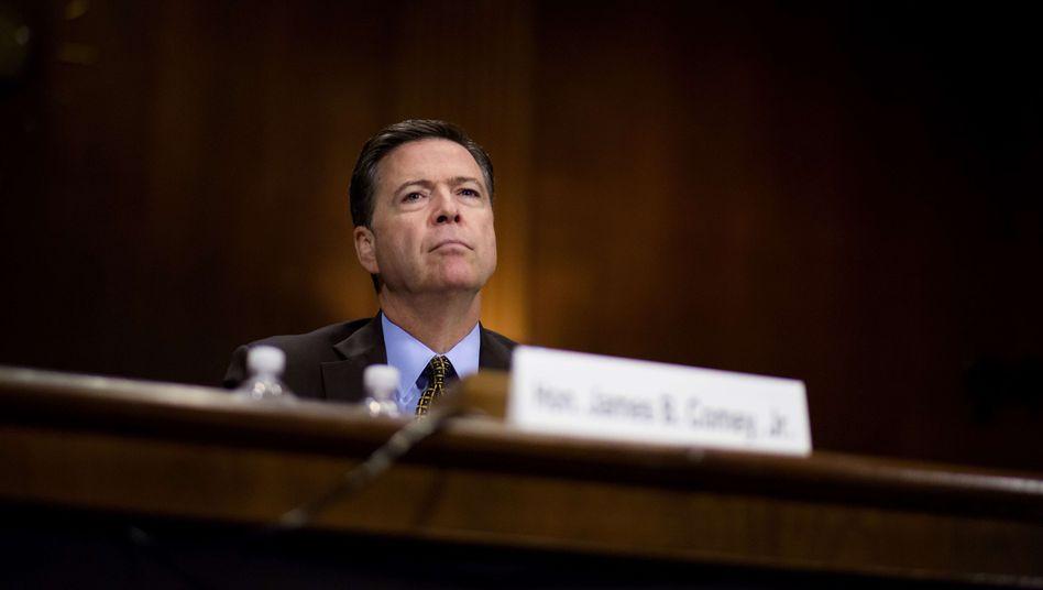 USA: Trump feuert FBI-Direktor Comey