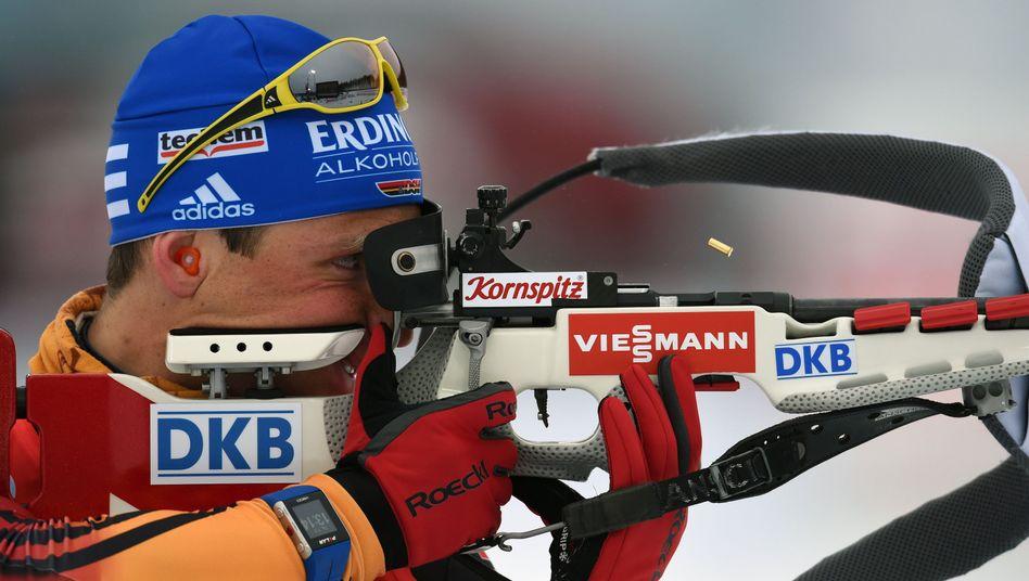Biathlet Erik Lesser: Weltmeister in der Verfolgung