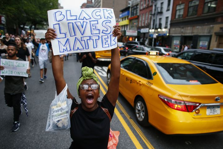 """Black Lives Matter""-Demonstration"