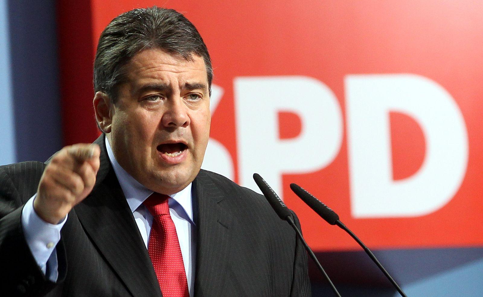 SPD-Parteitag / Gabriel