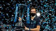 Medwedew siegt im ATP-Finale gegen Thiem