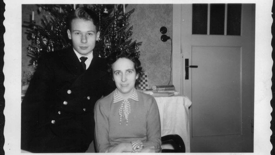 1958 war ich zu Weihnachten auf Urlaub von der Seemannsschule