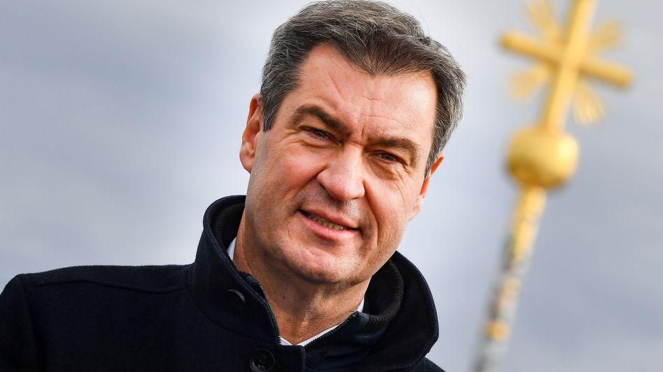 CSU-Chef Söder: Kanzlerkandidat der Union?