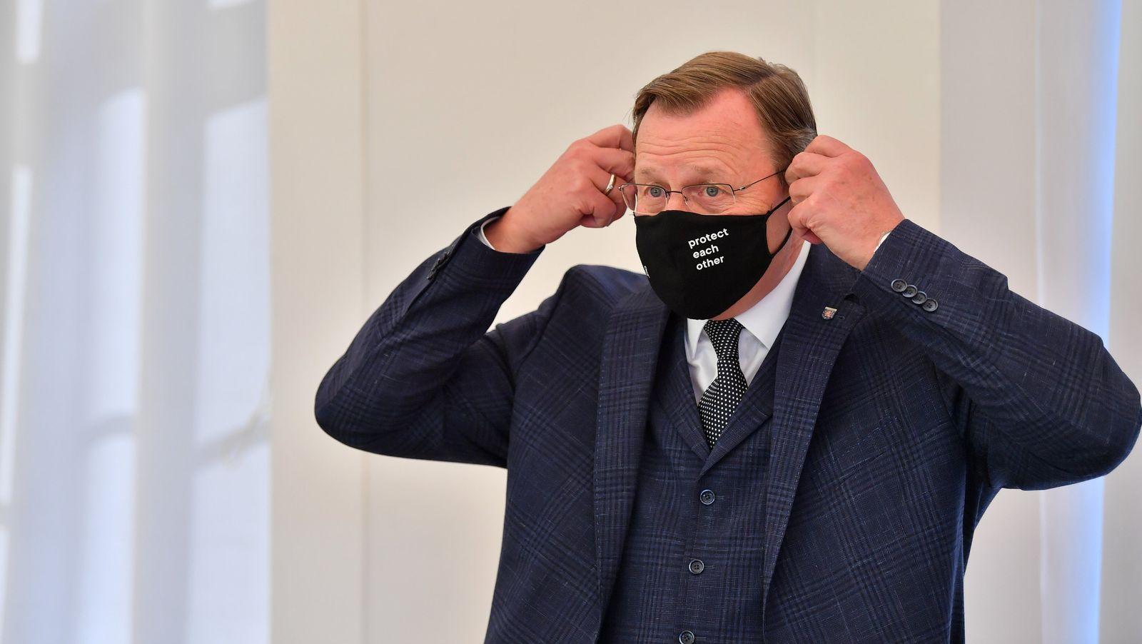 Haushaltsklausur der Landesregierung Thüringen