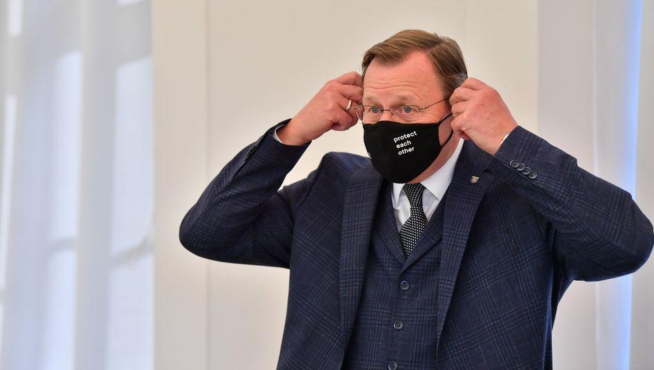 """Thüringens Ministerpräsident Bodo Ramelow: """"Es kann keine politischen Verabredungen geben, die am Ende juristisch nicht haltbar sind."""""""