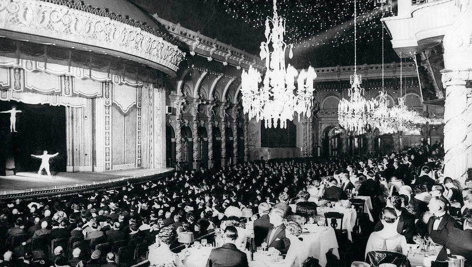 Abendvorstellung im Varieté Wintergarten, Berlin um 1925