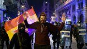 Proteste gegen Verhaftung von Rapper
