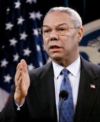 Warnschüsse: Colin Powell