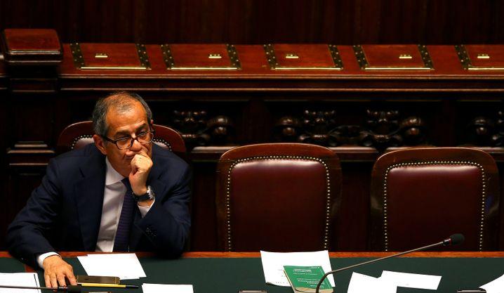 Italienischer Finanzminister Giovanni Tria