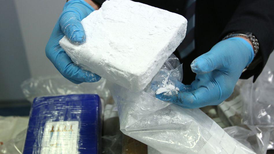Kokainfund beim Zoll (Archivfoto): Polizeiskandal im Allgäu