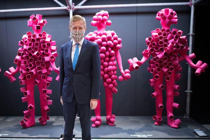 """Oliver Dowden besucht das Design Museum in London: """"Kulturelle Supermacht"""""""