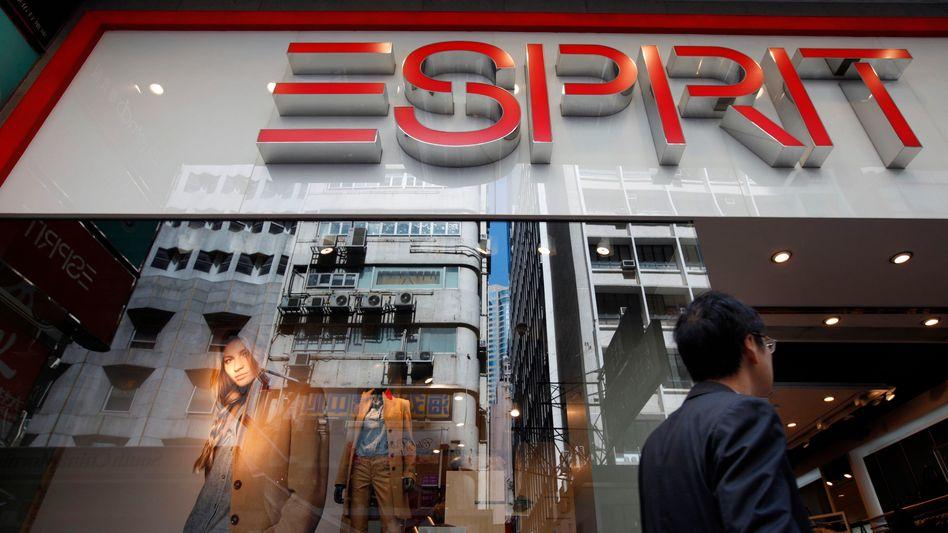 Esprit-Laden in Hongkong: Der Modekonzern hofft auf Rettung durch Schutzschirmverfahren
