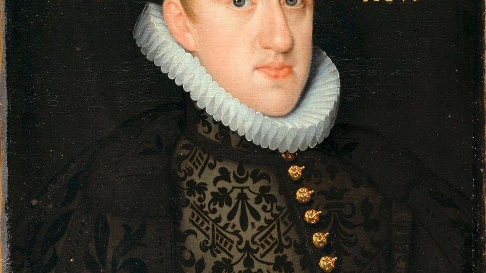 Porträt Ferdinands mit 17 Jahren Zeitgenössisches Gemälde