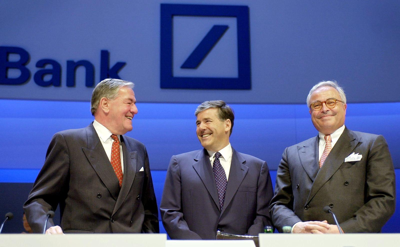 Deutsche Bank Geschichte/ Breuer /Ackermann/ Kopper/ 2002