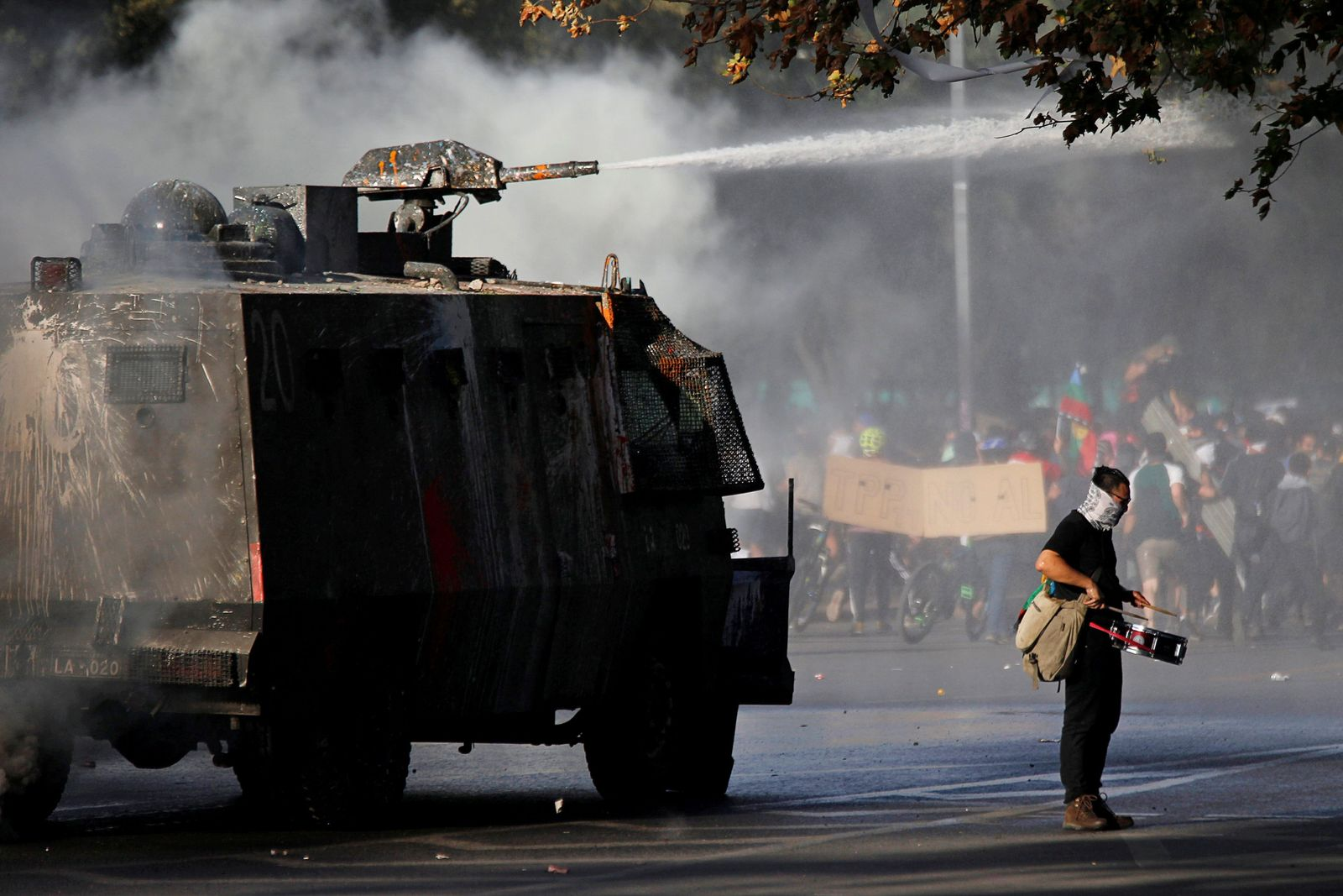 CHILE-PROTESTS - Lage