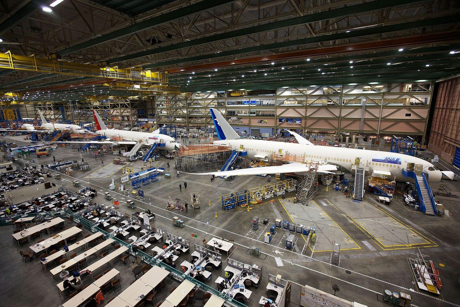 Boeing/ Produktion