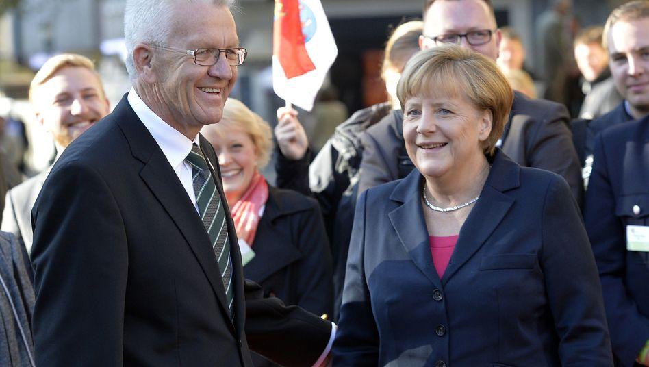"""Kretschmann und Merkel: """"Phase der Neuorientierung"""""""