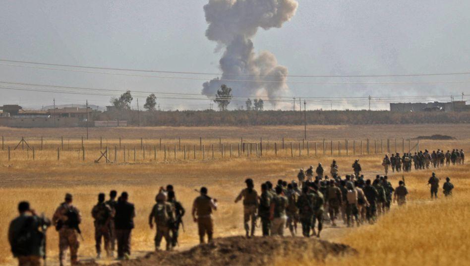 Kämpfe im Irak (nahe Mossul)