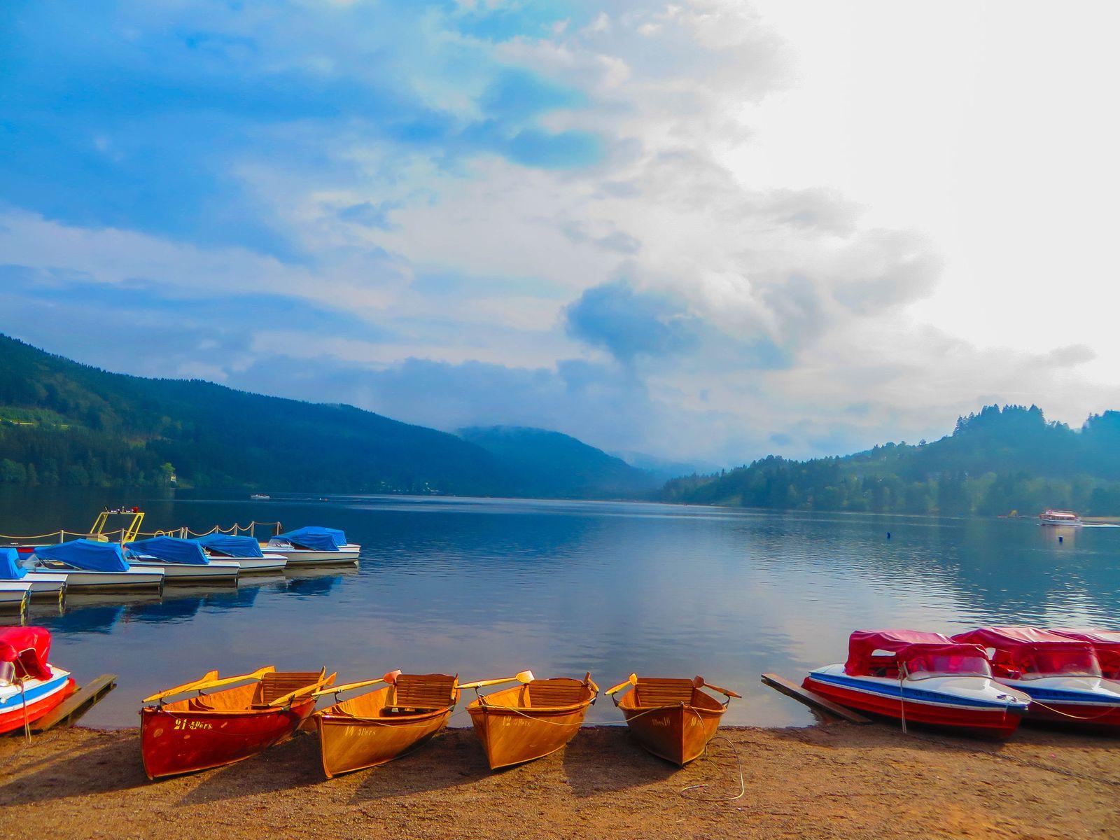 Morning on Lake Titisee Germany