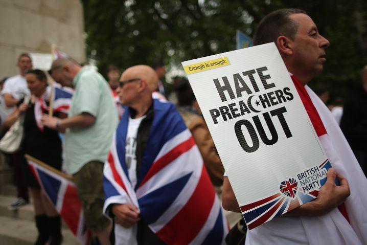 BNP-Anhänger in London