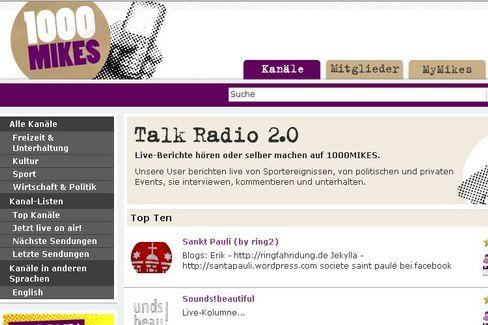 Bürgerradio im Web: Ein Handy reicht, um Live-Radiomoderationen ins Netz senden zu können