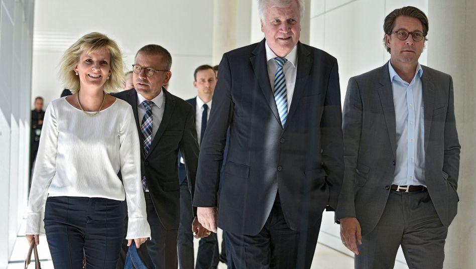 Horst Seehofer, Mitglieder der CSU-Landesgruppe