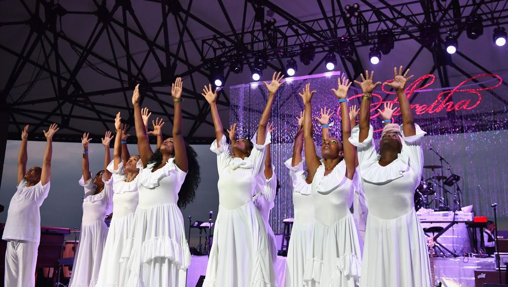 """Aretha Franklin: Musikalischer Abschied von der """"Queen of Soul"""""""