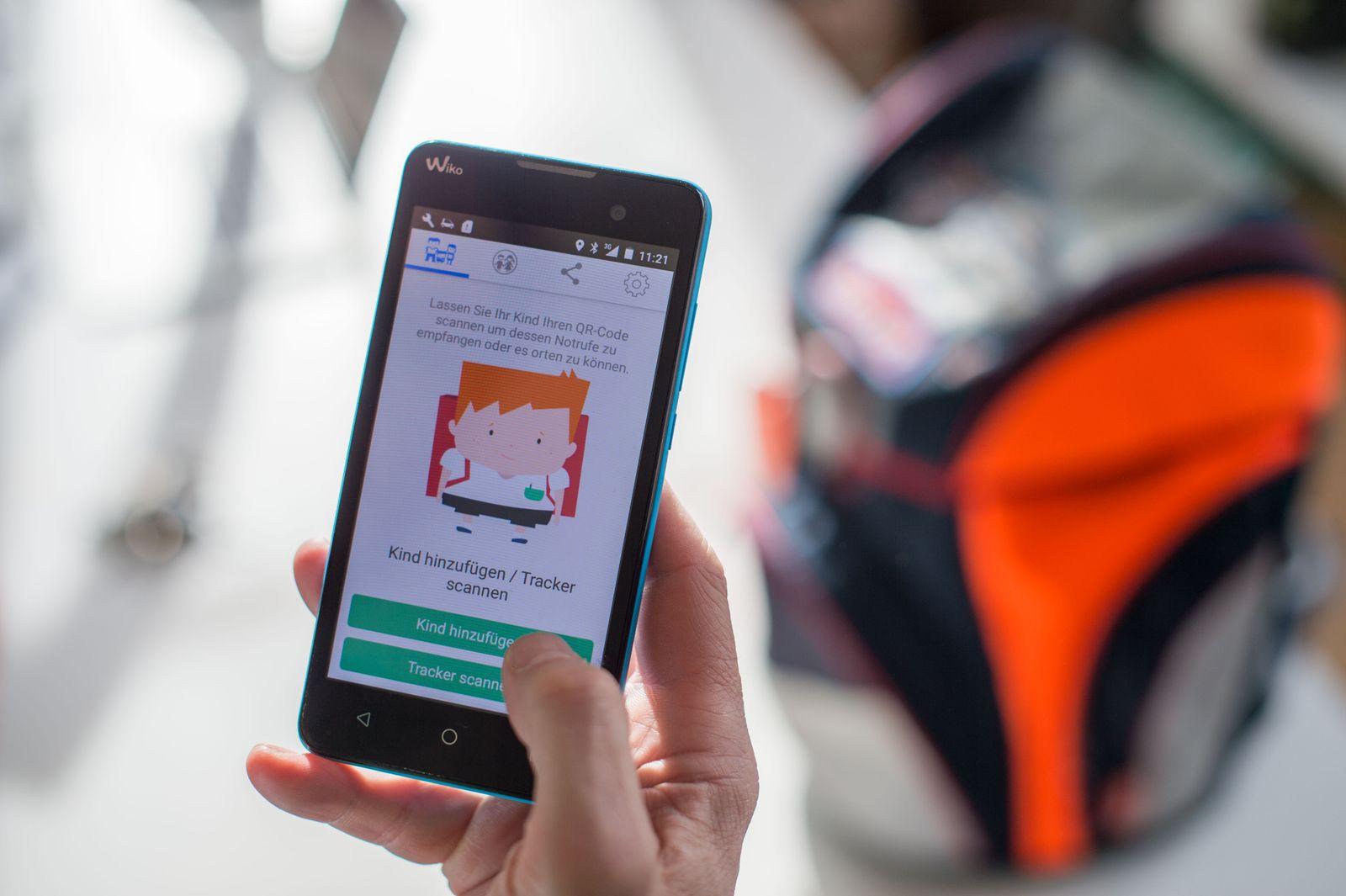 Schutzranzen GPS-Tracker