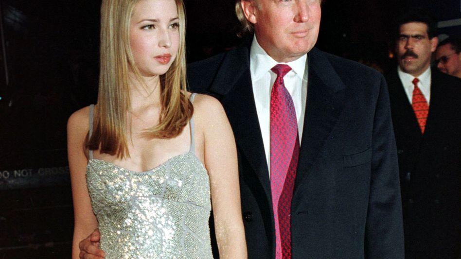 """Vater Trump mit Tochter Ivanka (1998): """"So was muss ein kleines Mädchen ängstigen"""""""